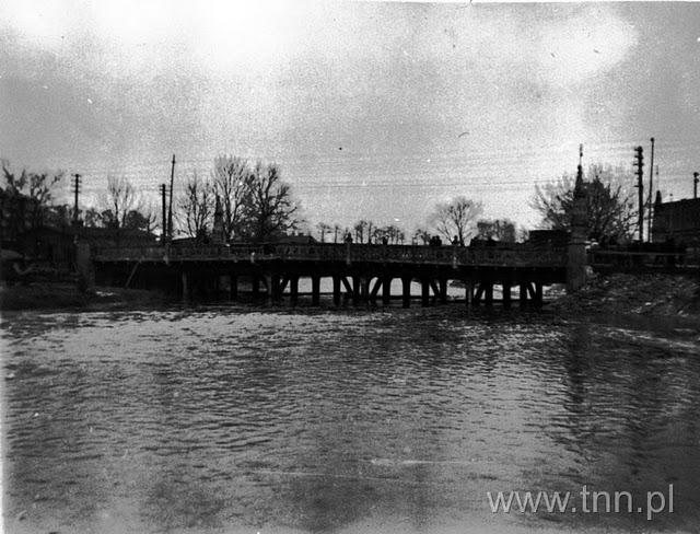 Most na ulicy Zamojskiej 1947