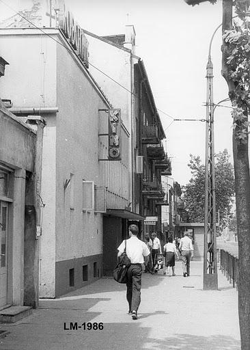 Ulica 1-go Maja w latach 80-tych a
