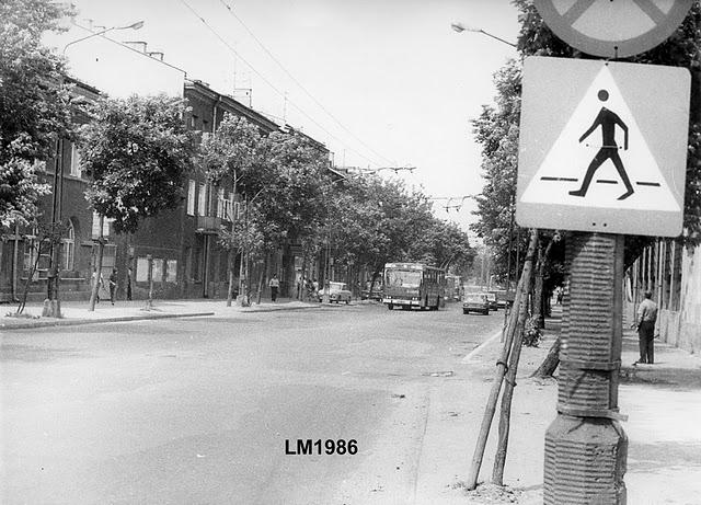 Ulica 1-go Maja w latach 80-tych c
