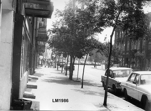 Ulica 1-go Maja w latach 80-tych e