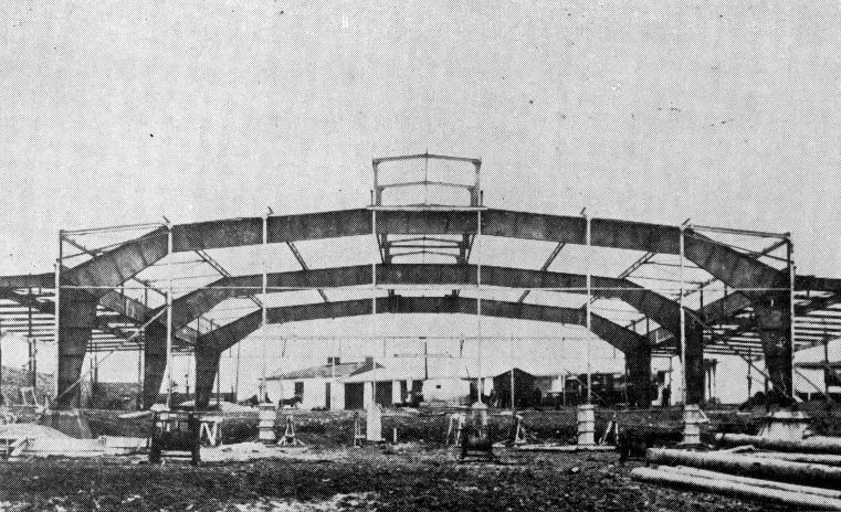 budowa zajezdni przy garbarskiej 1938